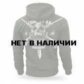 Толстовка Dobermans Aggressive с капюшоном Combat 44 II BZ158 олива
