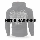 Толстовка Dobermans Aggressive с капюшоном Death Riders BZ166 черная