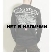 Лонгслив Dobermans Aggressive Rising Storm LS162 черный