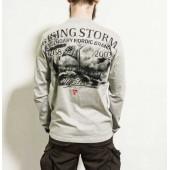 Лонгслив Dobermans Aggressive Rising Storm LS162 серый