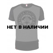 Футболка Варгградъ Руби дрова черно-серая