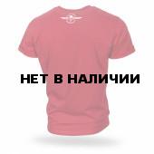 Футболка Dobermans Aggressive Death Riders TS166 красная