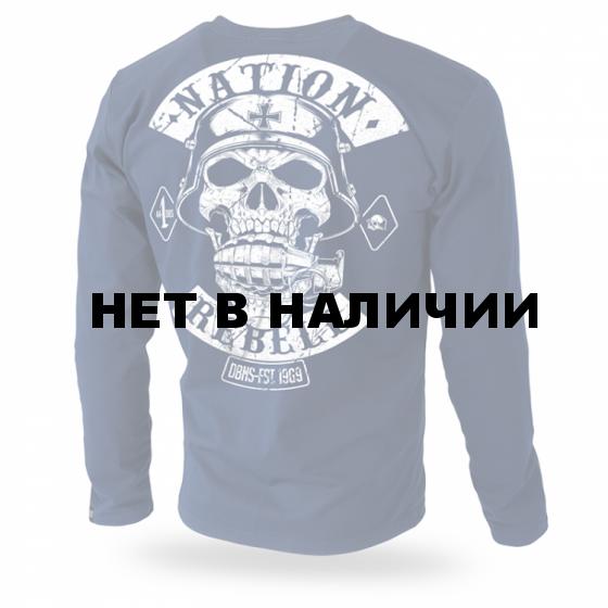 Лонгслив Dobermans Aggressive Rebell Support LS187 Navy