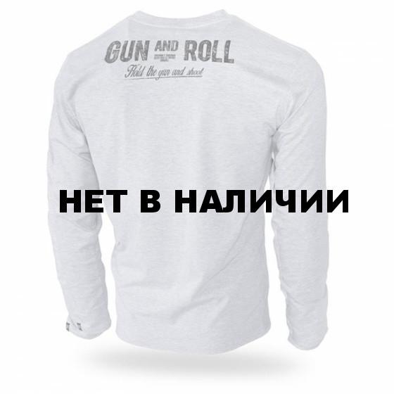 Лонгслив Dobermans Aggressive Gun and Roll LS192 серый
