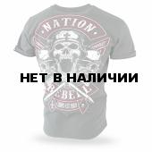 Футболка Dobermans Aggressive Nation Rebell TS184 олива