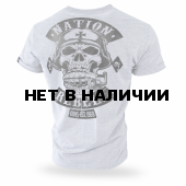 Футболка Dobermans Aggressive Rebell Support TS187 серая