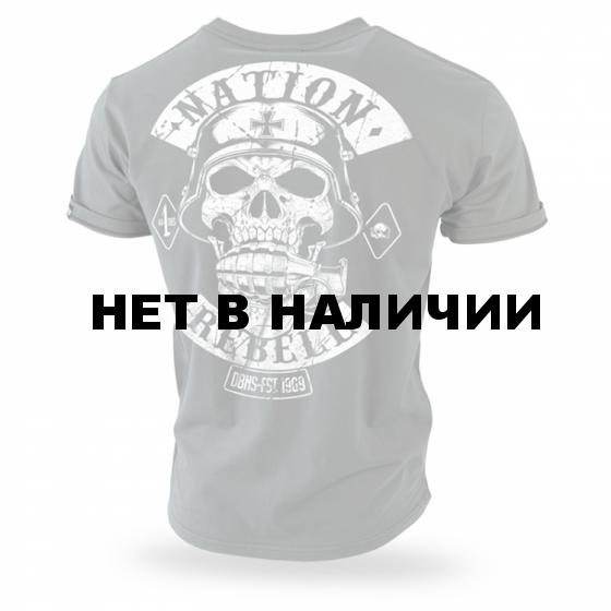 Футболка Dobermans Aggressive Rebell Support TS187 олива