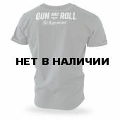 Футболка Dobermans Aggressive Gun and Roll TS192 олива