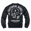 Свитшот Dobermans Aggressive National Rebel DR II BC134 черный