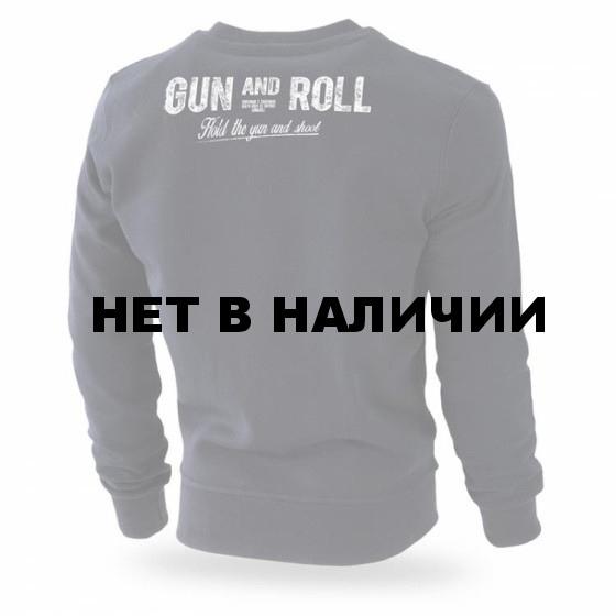 Свитшот Dobermans Aggressive Gun and Roll BC192 черный