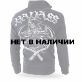 Толстовка Dobermans Aggressive на молнии Badass II BCZ176 черная