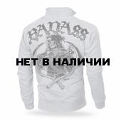 Толстовка Dobermans Aggressive на молнии Badass II BCZ176 серая