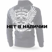 Толстовка Dobermans Aggressive на молнии Rebell 44 BCZ179 черная