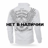 Толстовка Dobermans Aggressive на молнии Rebell 44 BCZ179 серая