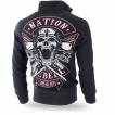 Толстовка Dobermans Aggressive на молнии Nation Rebell BCZ184 черная