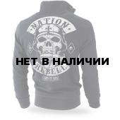 Толстовка Dobermans Aggressive на молнии Rebell Support BCZ187 черная