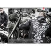 Толстовка Dobermans Aggressive с капюшоном Death Rider BZ117 cерая