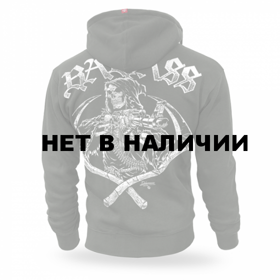 Толстовка Dobermans Aggressive с капюшоном Badass II BZ176 олива