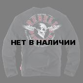 Лонгслив Dobermans Aggressive Rebell LS163 черный
