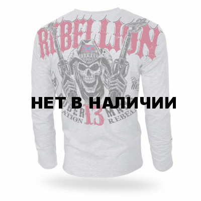 Лонгслив Dobermans Aggressive Rebellion 13 LS165 серый