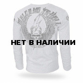 Лонгслив Dobermans Aggressive Welcome To Hell LS156 серый