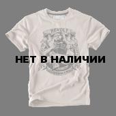 Футболка Dobermans Aggressive Revolt TS169 бежевая