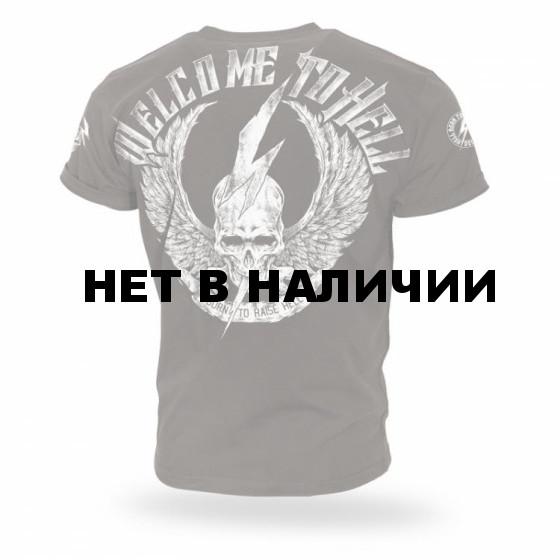 Футболка Dobermans Aggressive Welcome To Hell II TS156 Brown