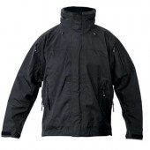 Куртка Blackhawk! Shell Jak влаговетрозащитная черная
