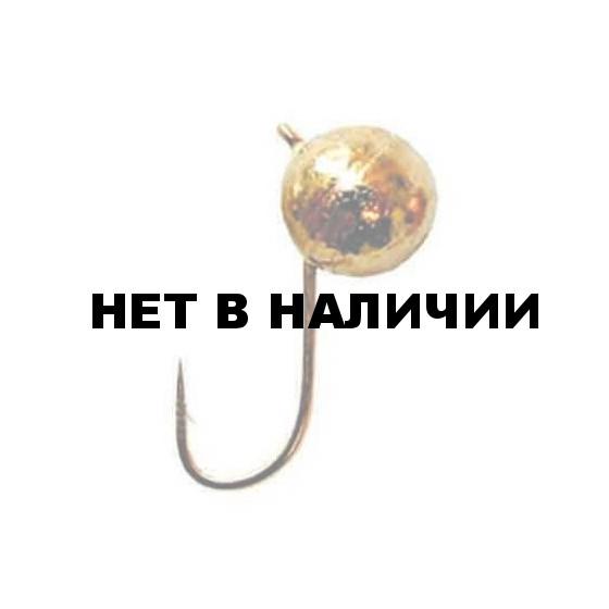 Мормышка LUCKY JOHN вольфрамовая ШАР с петел. 040/G 5 шт