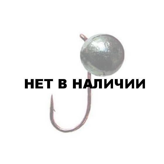 Мормышка LUCKY JOHN вольфрамовая ШАР с петел. 040/B 5 шт