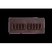 Подсумок Holster поясной открытый 10п (223 Remington) кожа коричневый