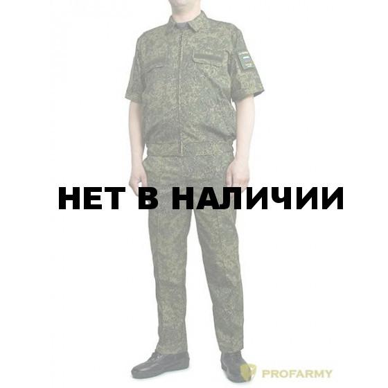 Костюм ProfArmy Росгвардия офисный с коротким рукавом, панацея рип-стоп ЕМР