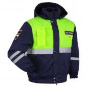 Куртка ANA Tactical ДС ГИБДД сигнальная синяя