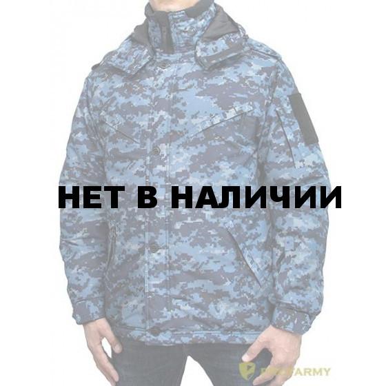 Куртка ProfArmy Рекрут мембрана цифра МВД