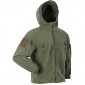 Куртка ANA Tactical Дамаск флисовая олива
