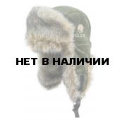 Шапка Holster ушанка Хольстер замша с мембранным покрытием олива