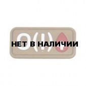 Патч Stich Profi ПВХ Группа крови Цвет: Бежевый, Модель: O I Rh+