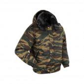 Куртка ANA Tactical Р51-09 Снег со съемными погонами зеленый камыш