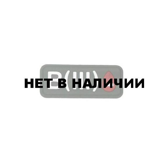Патч Stich Profi ПВХ Группа крови Цвет: Олива, Модель: B III Rh-
