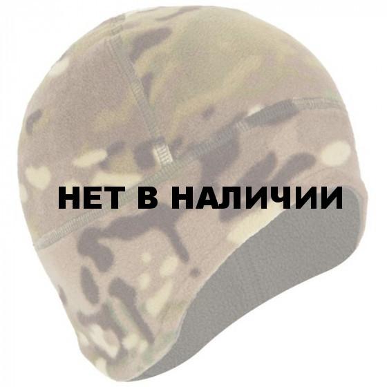 Шапка ANA Tactical М3 флисовая двойная с увеличенной ушной зоной multicam