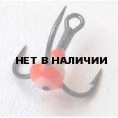 Крючок-тройник LUCKY JOHN для приманок с каплей цвет. разм.008 RFR 10 шт