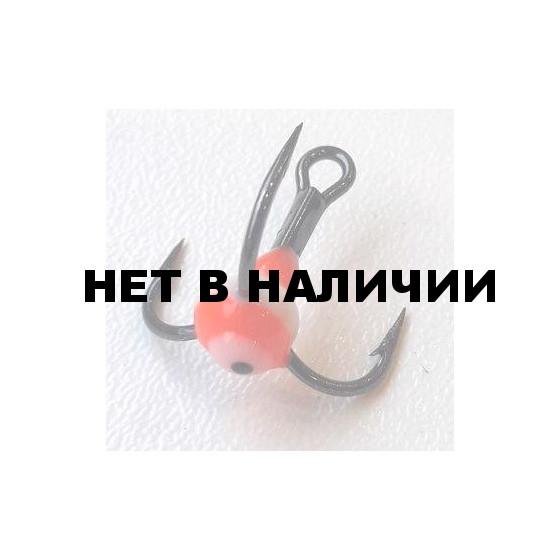Крючок-тройник LUCKY JOHN для приманок с каплей цвет. разм.010 RFR 10 шт