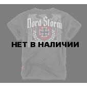 Футболка Dobermans Aggressive Nord Storm TS53 черная
