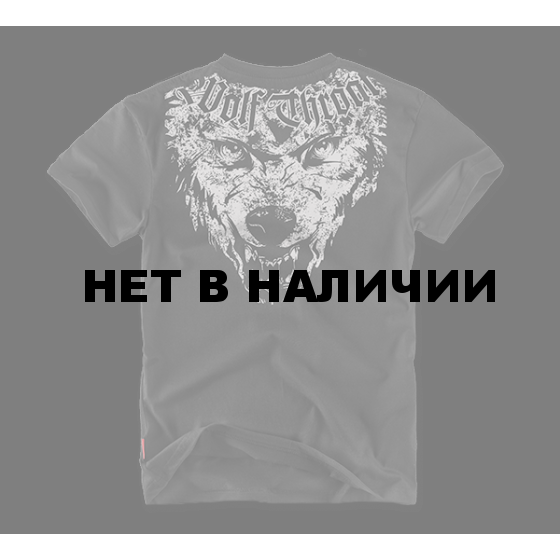 Футболка Dobermans Aggressive Wolf Throat II TS65 черная