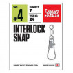 Застёжки LUCKY JOHN LJ Pro Series INTERLOCK SNAP 010 5 уп. по 10 шт