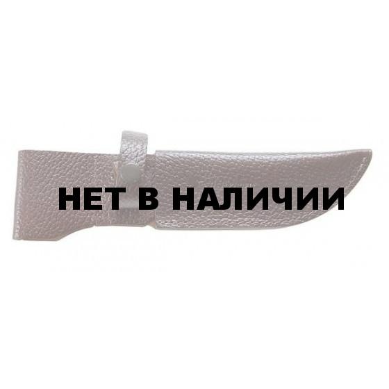 Ножны Stich Profi модель № 8 нож: 007,09, Лосиный-большой ДП с кнопкой 155мм 48мм Цвет: Коричневый