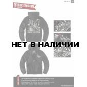 Толстовка Dobermans Aggressive на молнии Nordic Division BZ73 черная