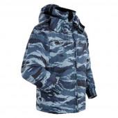 Куртка ANA Tactical ДС-3 на флисе серый камыш