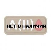 Патч Stich Profi ПВХ Группа крови Цвет: Бежевый, Модель: A II Rh-
