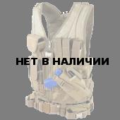 Жилет Condor Outdoor Crossdraw Vest тактический с интегрированной кобурой coyote